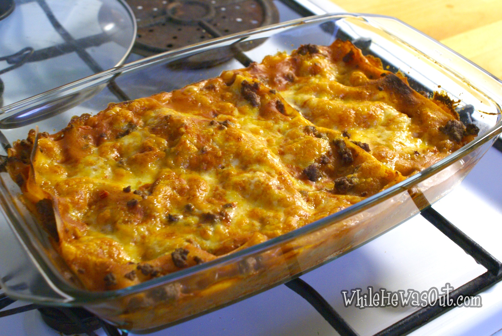 Knorr Lasagne Bolognese | While He Was Out