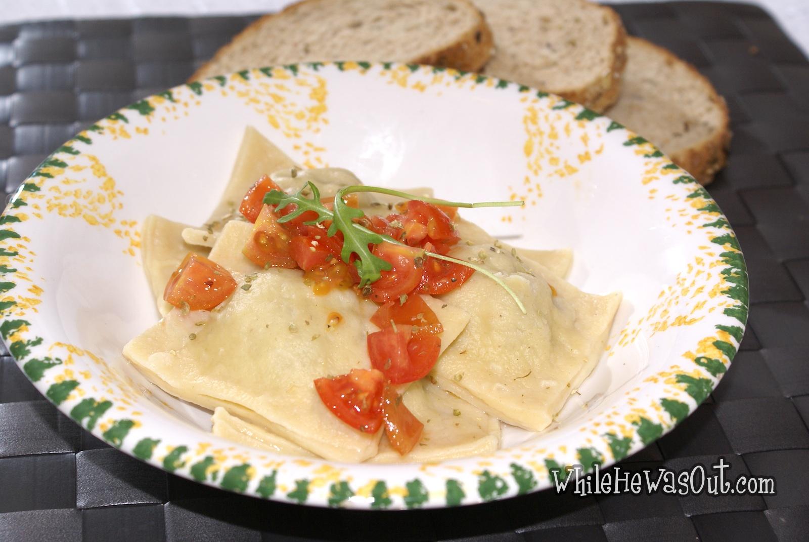 how to cook homemade ravioli